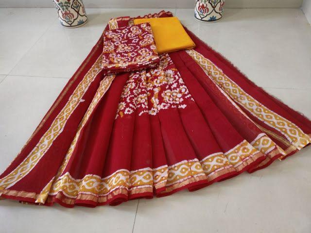 Silk Cotton Chanderi suits   Buy Online Chanderi Salwars   Elegant Fashion Wear
