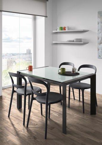 Mesas extensibles arenapara el comedor una soluci n muy - Mesas de comedor para espacios reducidos ...