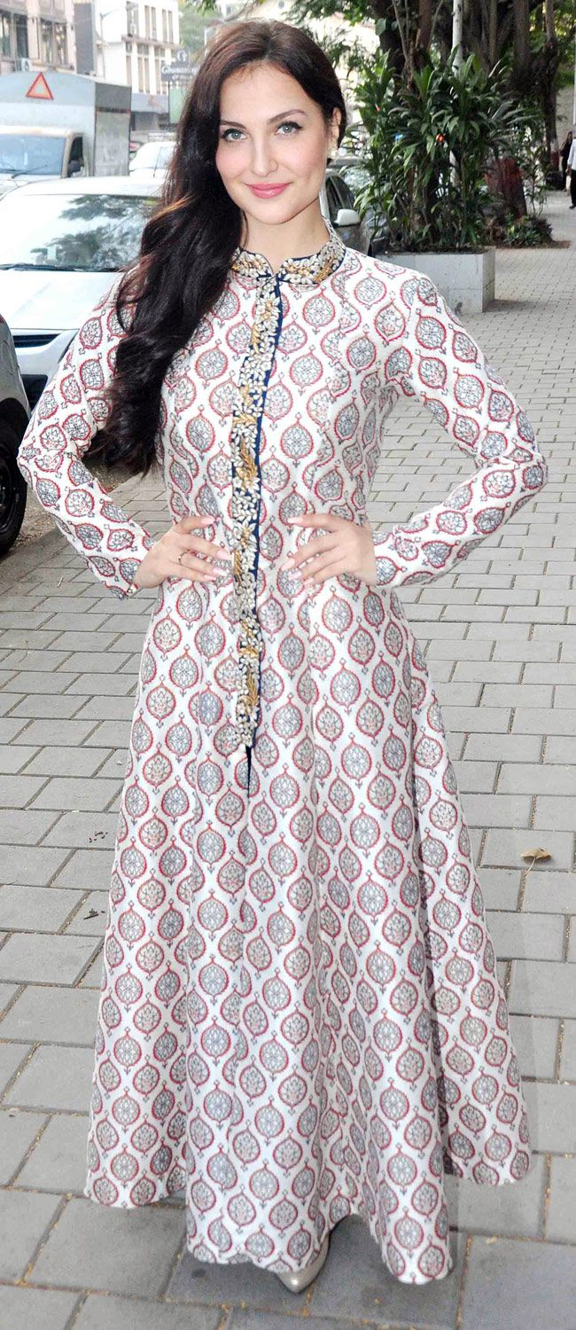 Elli Avram at the festive collection preview of Hue store collection preview. #Bollywood #Fashion #Style #Beauty