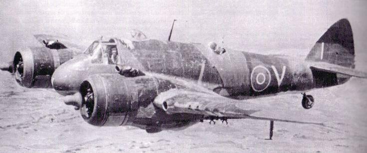 R.P's on Malta based Beaufighters.
