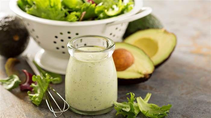 Use avocado for a healthier, creamier ranch dressing