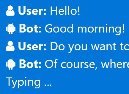 FakeChatBot is a #jQuery plugin used for creating a multi-line text typing effect to simulate #chat messages on the webpage.