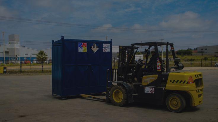 Bodegas prefabricadas para residuos y sustancias peligrosasEcostandard