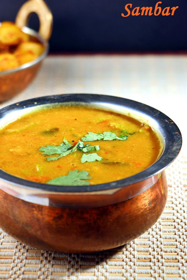 how to make sambar in hindi