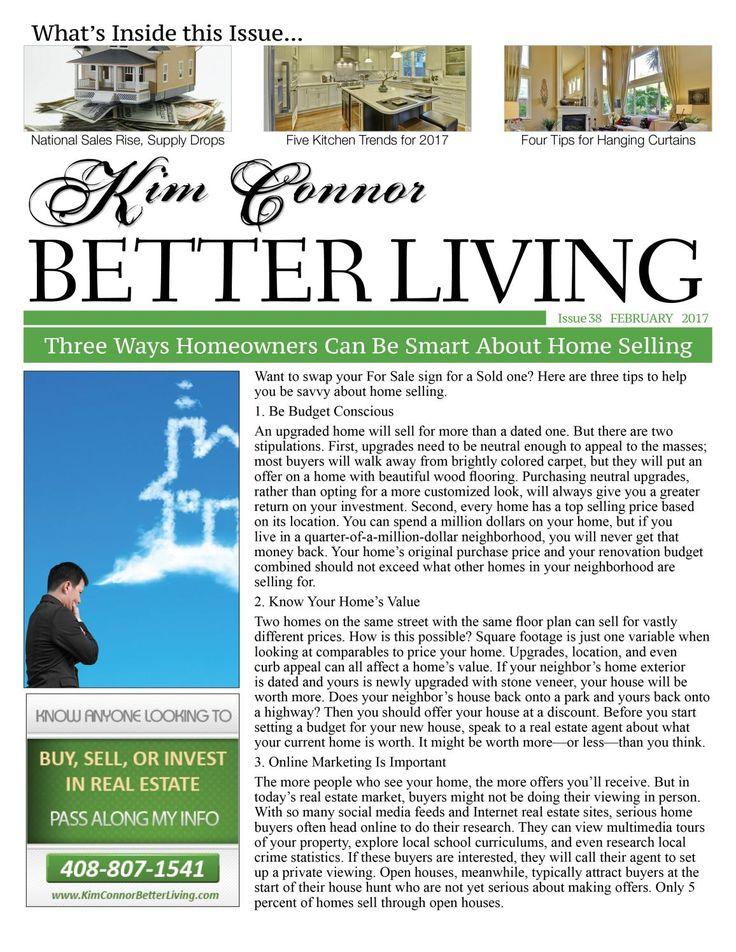 Kim Connor Real Estate Newsletter - February