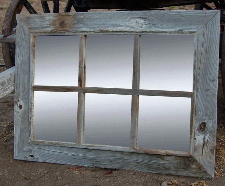 8 Best Rustic Mirrors ONLY Images On Pinterest