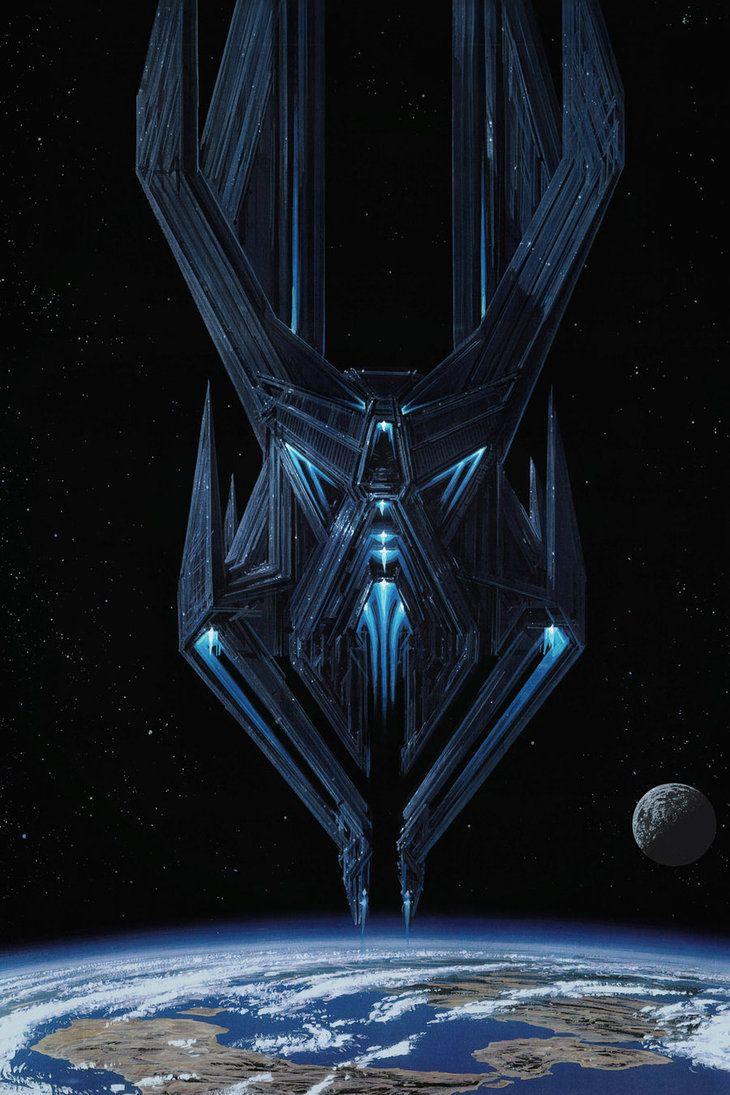 Titan AE - Drej Fortress by steve-burg on deviantART