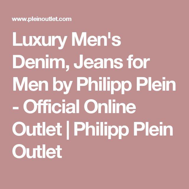 Luxury Men's Denim, Jeans for Men by Philipp Plein - Official Online Outlet | Philipp Plein Outlet