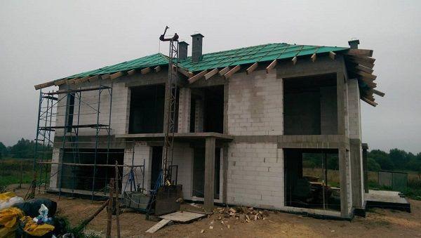 Początkowe etapy budowy  #ściany #budowa #projekt