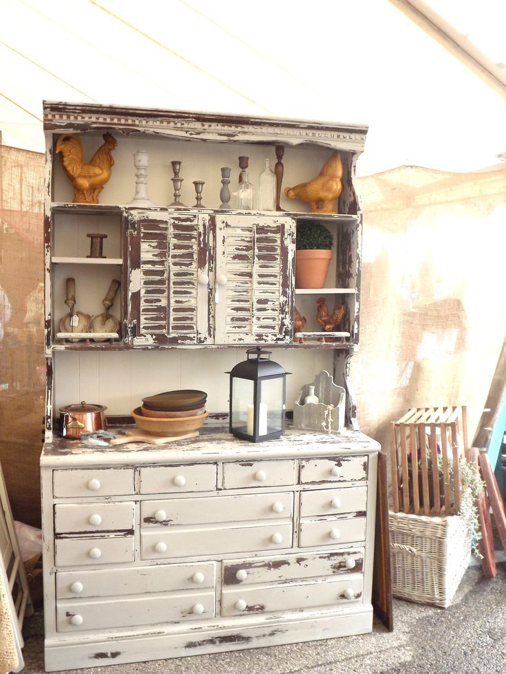 Hutch By Junque Chic In Marzipan By Miss Mustard Seed Milk Paint · Painting  FurnitureFurniture ...
