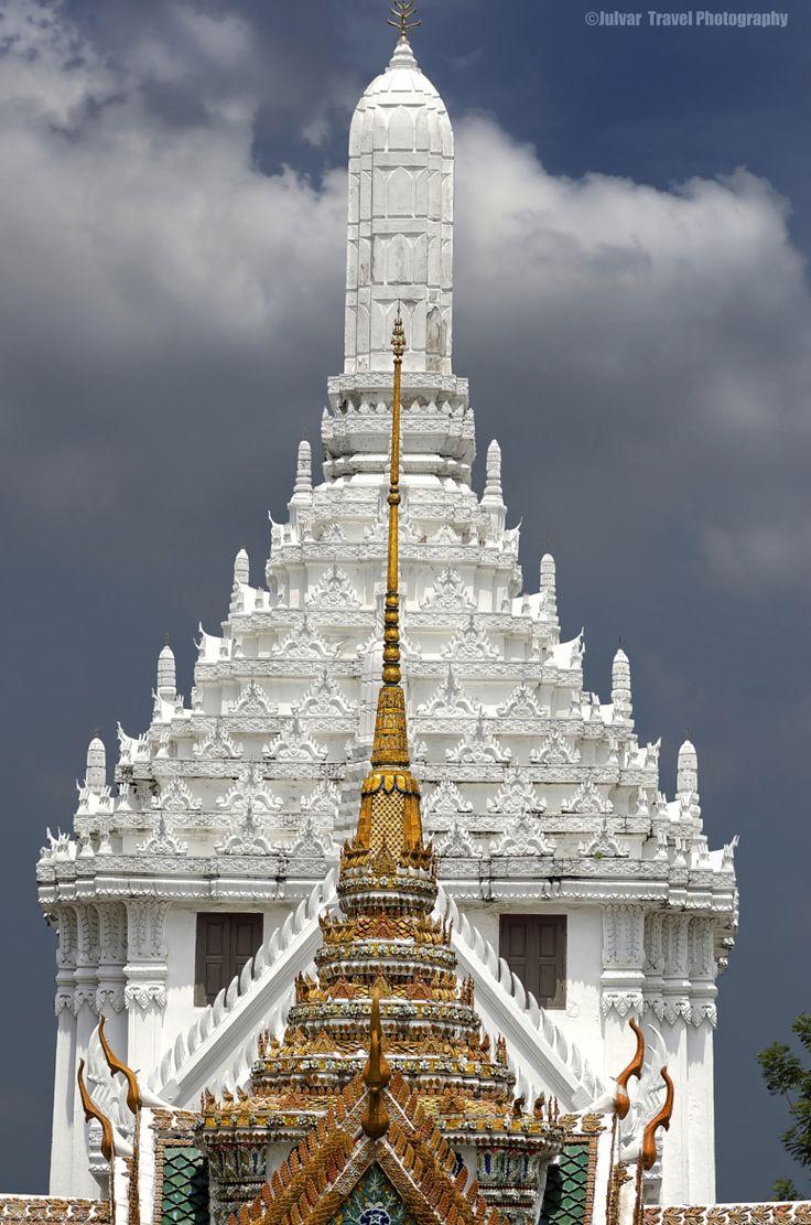 Tower in the Palace, Wat Phra Kaew, Bangkok, Thailand