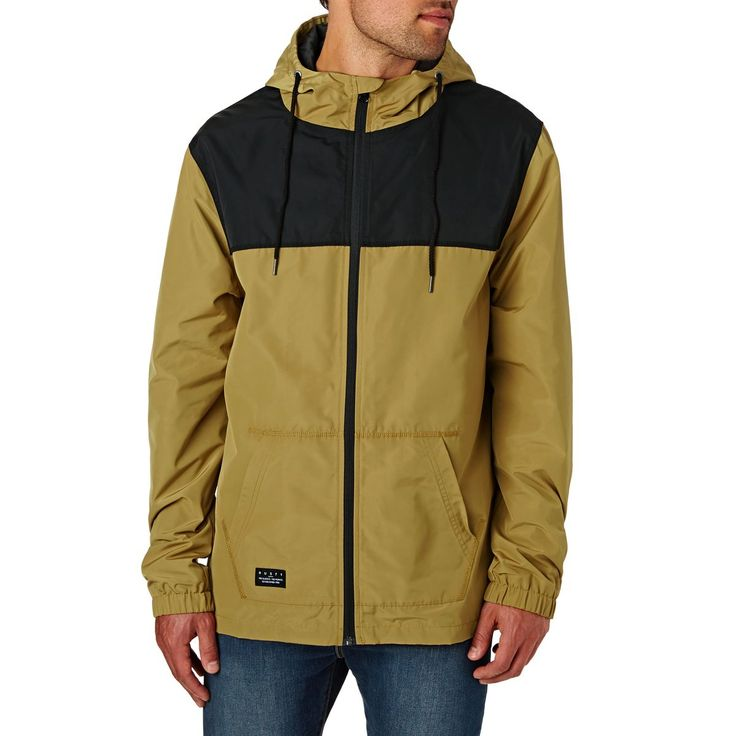 Yellow Rusty Jackets - Rusty Supremecy Hooded Jacket  - Camel