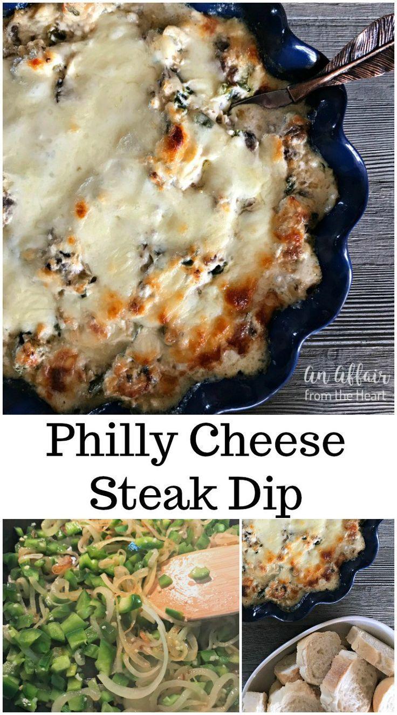 Philly Cheese Steak Dip