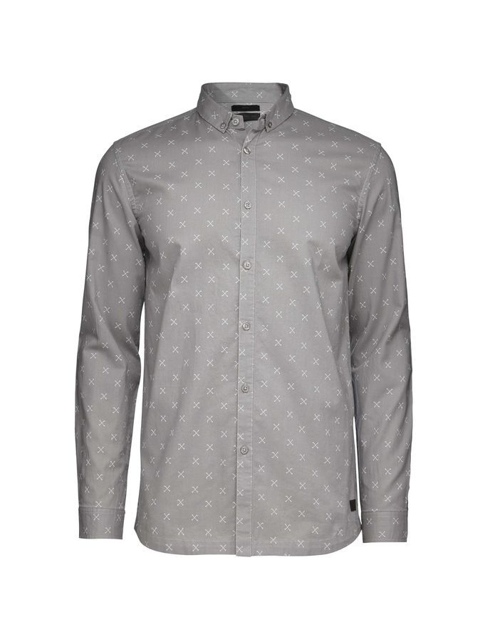 TIGER OF SWEDEN Droopy print shirt #vermontfashion