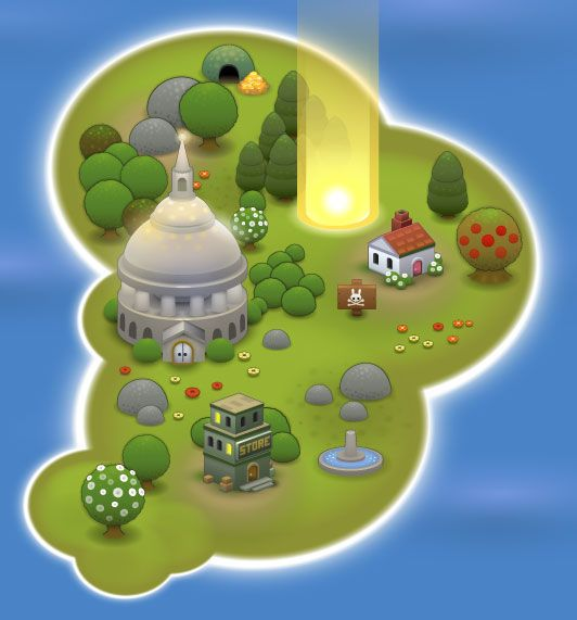 Free game graphics - Graphics for small worlds