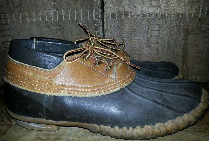 USA LL BEAN BEAN BOOTS Men WATERPROOF Hunting Boat Duck Mud Boot Shoes Size 10 M #LLBEANBEANBOOTS #SnowWinter