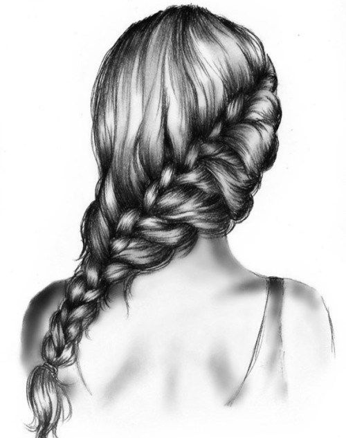 Best Tumblr Outlines Images On Pinterest Drawing Girls Girl - Hairstyle drawing tumblr