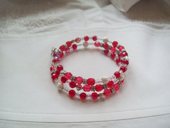 February is Heart Awareness Month Sale Heart Disease Awareness/Go Red for Women by jjsjewelrydesigns, $32.00
