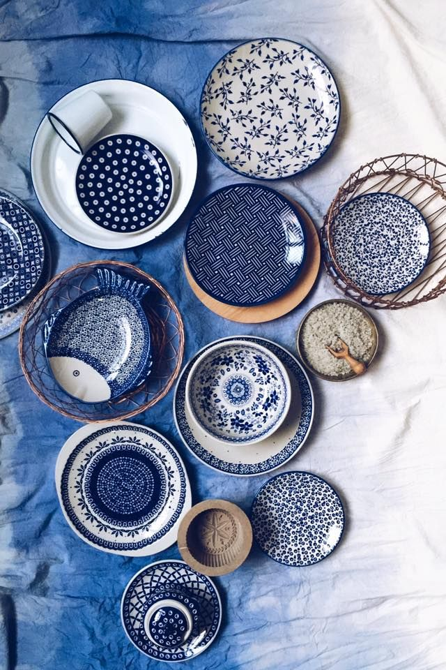 Bunzlauer Keramik- neueste Kollektion. Latest Collection of Polish Pottery allready in my shop ;) www.homemode.de
