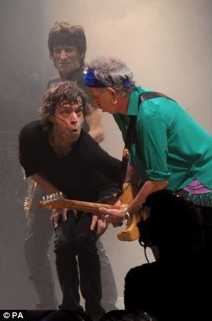 Rolling Stones  Glastonbury 2013.