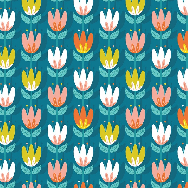 Daily Pattern - Tulip by Alyssa Nassner, via Flickr