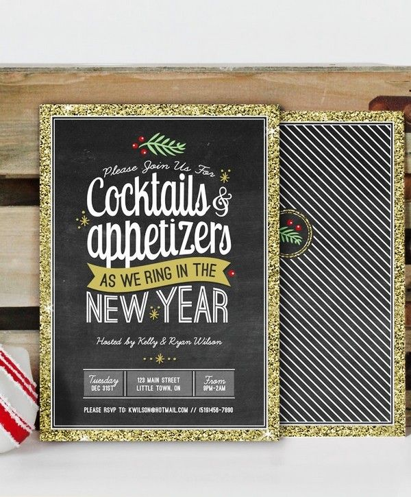 288 best 2015 new year party ideas images – Free Printable New Years Eve Party Invitations