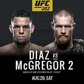UFC 202 DIAZ VS McGREGOR 2 Forecast and predictions.