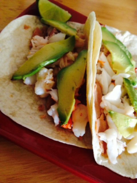 Cheryl's Summer Lobster Tacos