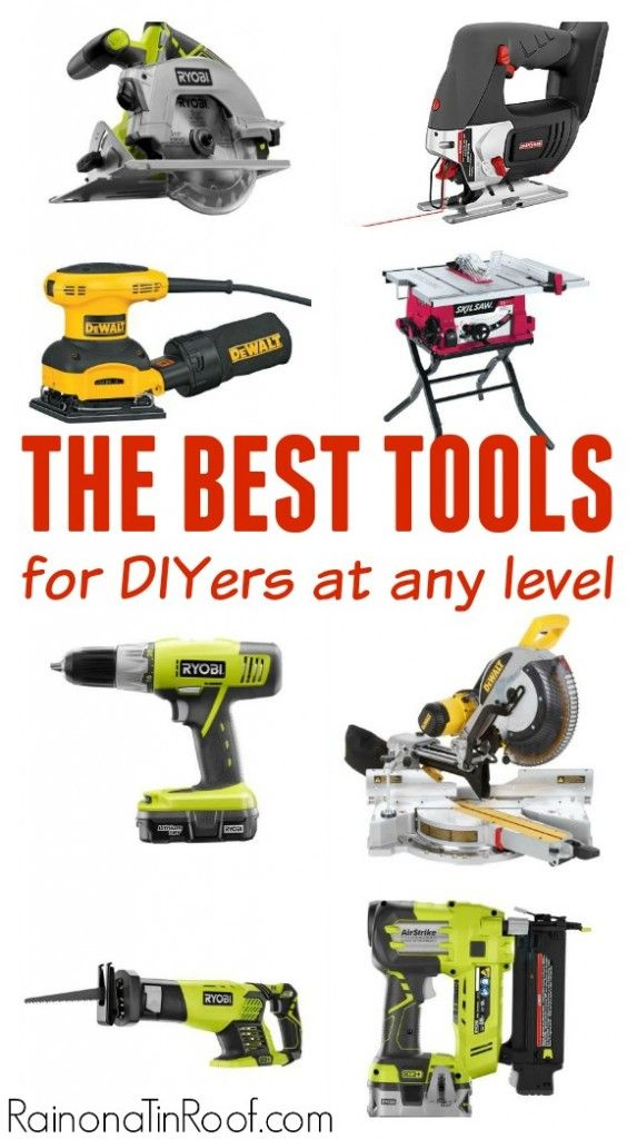 Best Tools for DIY Projects | Tools for Woodworking | Tools for Homeowners | Best Tools for DIYers