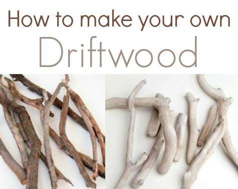Make a Jar Vase with Driftwood - Completely Coastal