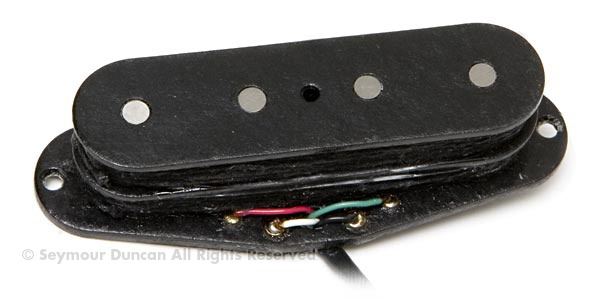 Drop in hum-canceling pickup for '50s style single coil P-Bass®. Note: because this is a Stack, make sure you guitar's pickup cavity has at least .81' clearance