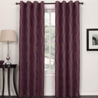sun zero stratton grommettop curtain panel