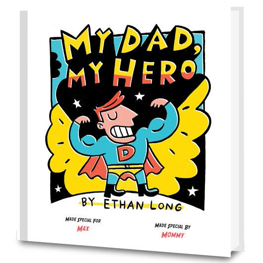My Dad My Hero Personalized Books for Kids | Put Me In The Story