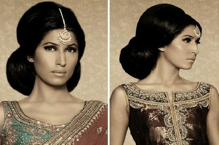 60's Bollywood #hair