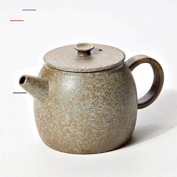 Japanese Ceramic Teapot Kettle Chinese Tea Pot Ceramicteapots Brand Name Tangpinmaterial Potterycolor Black And B In 2020 Tea Pots Ceramic Teapots Tea Pots Art