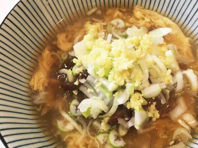 丸亀製麺風。簡単★肉玉あんかけうどん!の画像