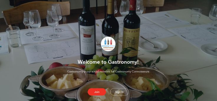 Join the Gastronomy Network at www.gastronomy.mightybell.com