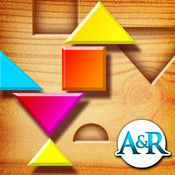 My First Tangrams for iPad App (STEM) - A Wood Tangram Puzzle Game for Kids - Perfect for Montessori method