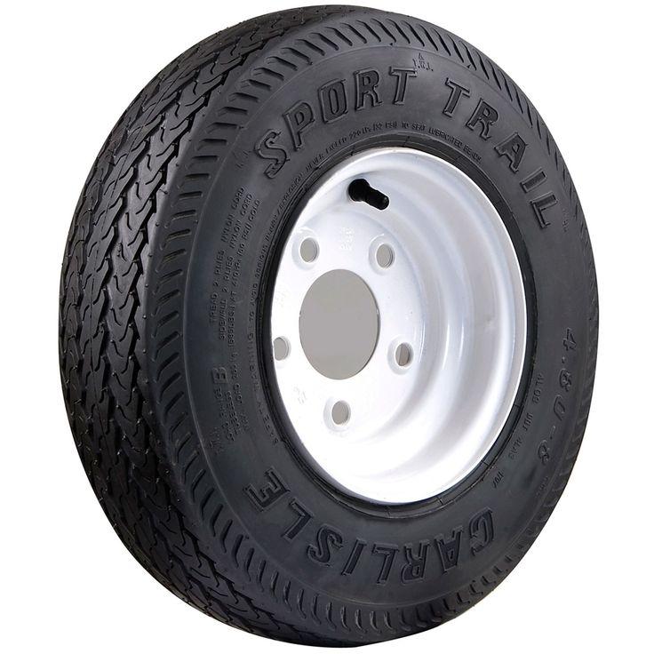 Carlisle Sport Trail Bias Trailer Tire - 16.5X6.5-8 LRC/6 ply