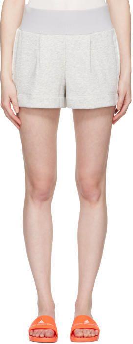 adidas by Stella McCartney Grey Yoga Shorts