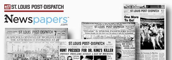 St louis post dispatch archives 1909