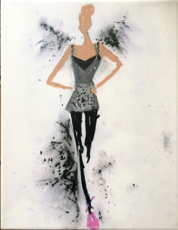 A costume sketch by Amy Westcott for Black Swan, 2010. Core ballerina costumes featured in the film were designed by Zack Brown. Rodarte also designed seven of the film's ballet tutus. - The Cut