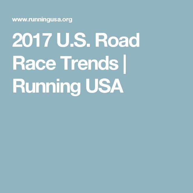 2017 U.S. Road Race Trends   Running USA