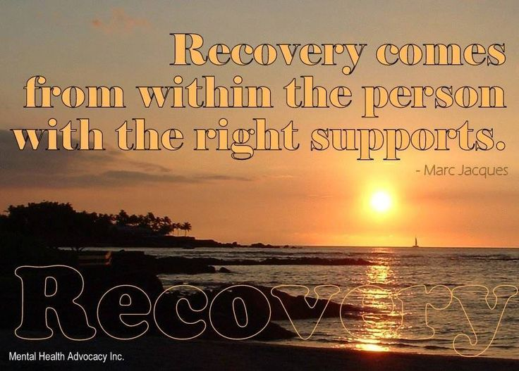 What Does Recovery Mean A Collection Of Ideas To Try