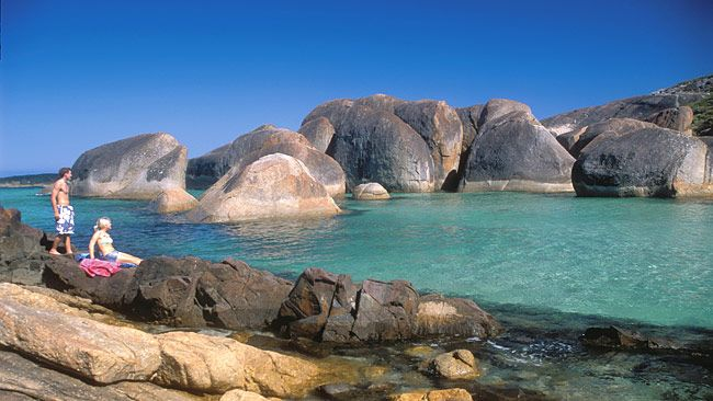 Tuesday - Elephant Rocks In William Bay National Park , Western Australia