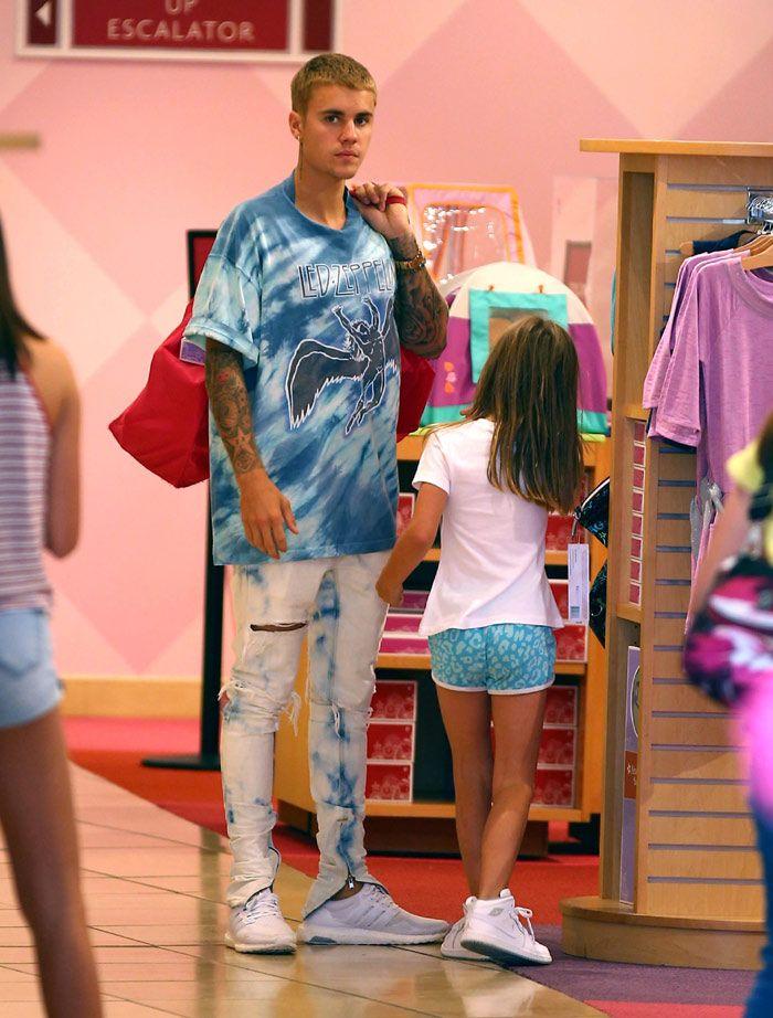 Justin Bieber saca su lado más tierno con su hermanita Jazmyn