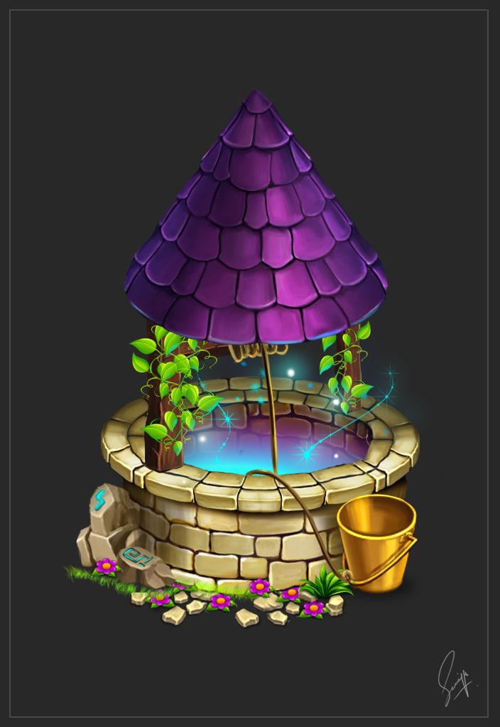 Magical Wishing Well by Saniya Aslam