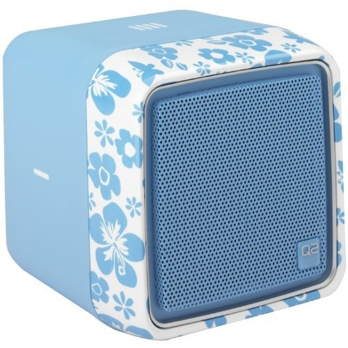 Amazon.com: Q2 Wi-Fi Radio (Blue): Electronics.  $129.99  comes in all sorts of colors.  Listen to up to four Internet radio stations at one time completely wirelessly. Plug into your computer, sync with your WiFi and pick your favorite stations from all over the world.      Negatives?  still get the radio ads.  Sound quality is decent, but smaller speakers means you can't blast your music (maybe that's a positive if it's a gift for your teen?) without static.     Perfect gift for a tween!