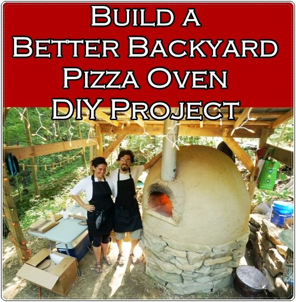 "Build Better Backyard Pizza Oven DIY Project  Homesteading  - The Homestead Survival .Com     ""Please Share This Pin"""