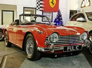 Triumph TR4a: A great little British Sports Car!